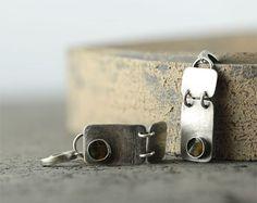 Sterling silver earrings amber baltic earrings by SylviaArtGallery, $79.00
