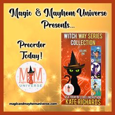 Preorder the Witch Way Series Collection by Kate Richards TODAY! #MagicMayhemUniverse#PNR#preorder#comingsoon#ebooks#magicaltales