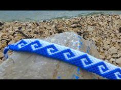 Bracelet Bresilien vague grecque (avancé)
