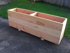 Macrocarpa Planter Box 1500mm | Trade Me