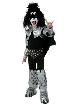 KISS Deluxe Destroyer Child Costume (Large) Best Reviews