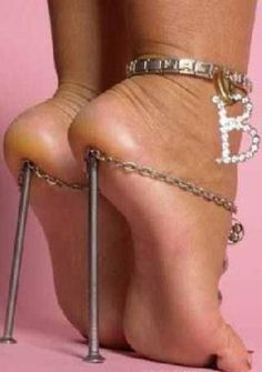 29 crazy heels that will most probably kill your feet. Some of these are insane!