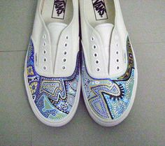 Painted Shoes named Calypso Canary - Really well done! Inspiring!