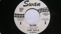 """Tony Galla---In Love                   /    Northern Soul  /  7""""  45 rpm"""