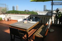 Beautiful Barcelona apartment in El Born with a deck!