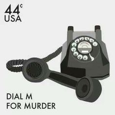 Dial M for Murder stamp