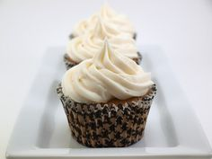 Chocolate Cream Filled Vanilla Bean Cupcakes with Vanilla Bean Frosting