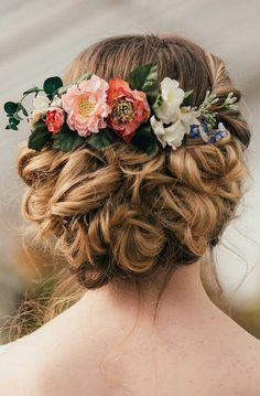 Francesca Flower Hair Comb