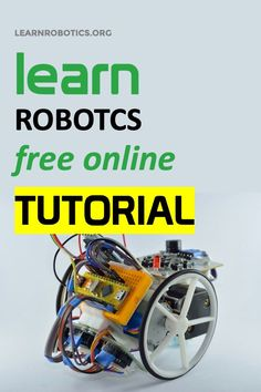 In this tutorial, I'm going to show you how to build a mobile robot using Arduino. Learn what materials you need to get started with your Arduino Robot. Electronics Mini Projects, Electrical Projects, Diy Electronics, Educational Robots, Educational Websites, Robotics Projects, Arduino Projects, Smart Home Technology, Technology World