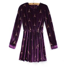 Wholesale 2013 Spring New Fashion Ladies Splicing Suede Long Sleeve Dress    US$26.98