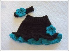 crochet skirt pattern for babies (7)