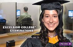Excelsior College not only offers credit-by-examination but also has 8 and 15 week online & CD-ROM courses to earn your Associates, Bachelors and/or Masters degree(s).  Check it out at www.excelsior.edu.