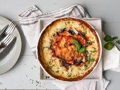 Scampi, Fish And Seafood, Quiche, Nom Nom, Pasta, Baking, Breakfast, Morning Coffee, Bakken