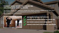Call Now! (410) 609-6012. Baltimore Garage Door Repair Company, reliable garage door repair Baltimore MD contractor for residential commercial garage door