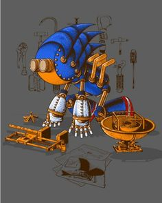 Steampunk Sonic