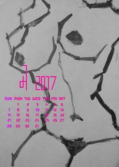 Calendar Design ( 2017 ) on Behance Calendar Design 2017, Adobe Photoshop, Adobe Illustrator, Behance, Branding, Illustration, Books, Art, Art Background