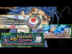 [Bleach Brave Souls] Login del Aniversario | Grimmjow | Intensive Course - (More Info on: http://LIFEWAYSVILLAGE.COM/videos/bleach-brave-souls-login-del-aniversario-grimmjow-intensive-course/)