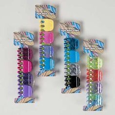 jaw mini hair clip Case of 72 Neon Colors, Color Patterns, Hair Clips, Hair Care, The Unit, Mini, Awesome, Check, Products