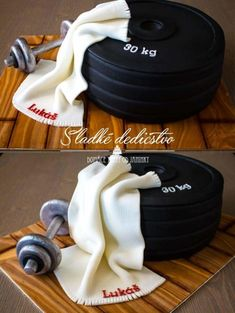 Barbells cake  - Cake by Jana