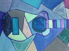 Monochromatic Blue Period Picasso Lesson Art Teacher - Kim Daniel (Maclay Middle School Art)