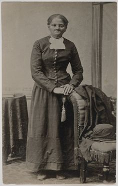 [Portrait of Harriet Tubman] | Emily Howland photograph album. Collection of the Library of Congress and the National Museum of African American History & Culture.