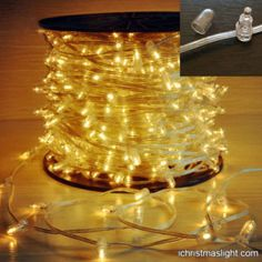 LED outdoor string lights for tree décor String Lights Outdoor, Outdoor Christmas, Christmas Projects, White Light, Decoration, Light Bulb, Android, Metal, Decor