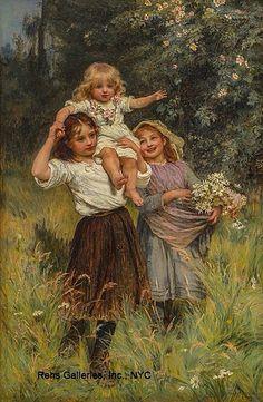 Wild Roses~ Frederick Morgan~Born 1890