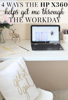 4 ways the HP x360 helps me get through the workday! #BendTheRules #sp
