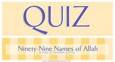 99 names of allah - Google Search