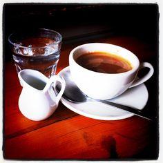 Coffee time. Foto Monica Rooney