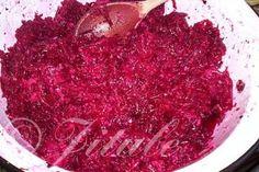 Červená řepa s křenem   jitulciny-recepty.cz Caviar, Cabbage, Fish, Meat, Vegetables, Cooking, Gardening, Fine Dining, Kitchen