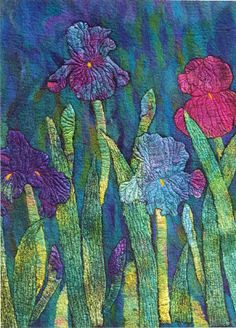 Lesley's Garden - Private Commission - Sold