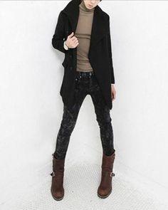 Calça masculina jeans estonado