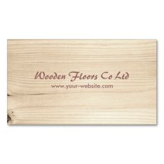 Wooden Business Cards. This is a fully customizable business card and available on several paper types for your needs. You can upload your own image or use the image as is. Just click this template to get started!