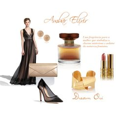 """Amber Elixir"" by dreamori on Polyvore http://pt.oriflame.com/recruits/online-registration-blog.jhtml?sponsor=16709834&theme=registrationTh"