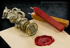 Gryffindor Wax Seal at noblecollection.com