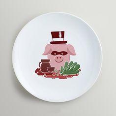 3 Decorative Plates, Tableware, Kitchen, Home Decor, Illustrators, Dish Sets, Dishes, Mesas, Cuisine