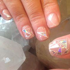 Cnd Shellac Empower Nail Art Nail Art And Style Pinterest