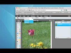 Pixlr: Crop Tool