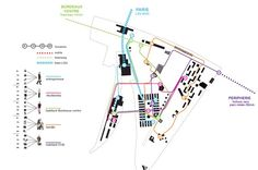 oma - masterplan surrounding the new tgv station, euroatlantique, bordeaux, 2011