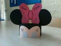 mouse crafts Headband craft idea for kids Mickey Craft, Mickey Mouse Crafts, Mickey Mouse Birthday, Minnie Mouse, Birthday Hats, Birthday Crowns, Headband Crafts, Hat Crafts, Toddler Crafts