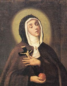 St Veronica Giuliani, Abbess and Mystic, canonised in 1839 by Pope Gregory XVI