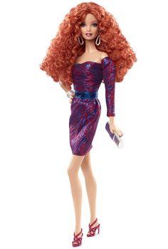 City Shine™ Barbie® Doll - Purple | Barbie Collector