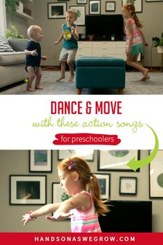 12 Action Songs for Preschoolers to Get Up and Moving | HOAWG