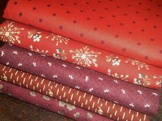 Quilting Fabric Half Yard Bundle  Collection by PrimitiveQuilting, $26.50