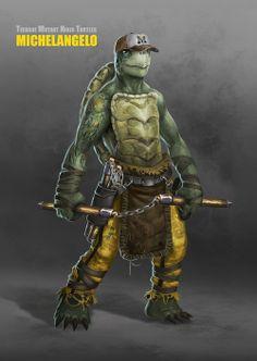 Awesome TEENAGE MUTANT NINJA TURTLES Character Designs
