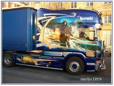 Camion décoré - Photos du Havre, du Port et de sa région