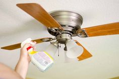 How to clean ceiling fans with no mess this blog walks you my ceiling fans are horrific thanks beasties living in a dust free home is not possible but weekly and monthly cleaning aloadofball Gallery
