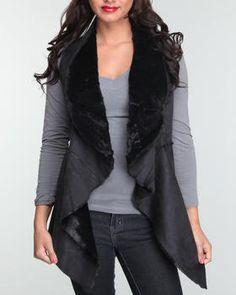 Stylish vest to dress up any simple long sleeve shirt