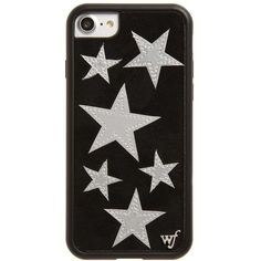 Women's Wildflower Velvet Star Iphone 7 Case ($38) ❤ liked on Polyvore featuring accessories, tech accessories, iphone cases, iphone cover case, apple iphone case, wildflower iphone cases and metallic iphone case